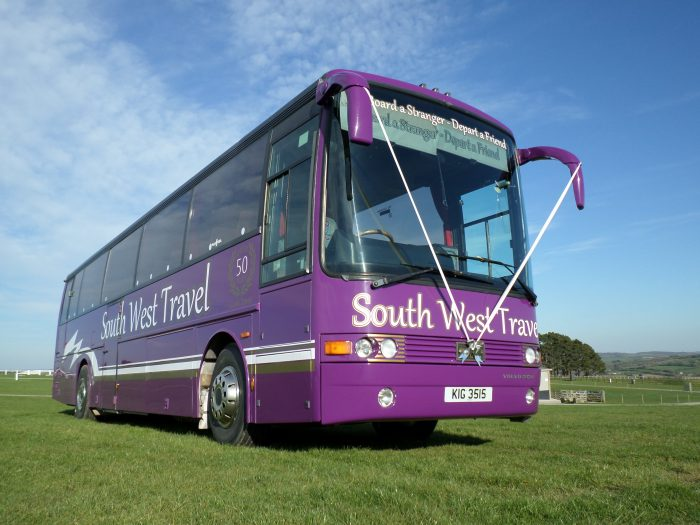 south west travel bus